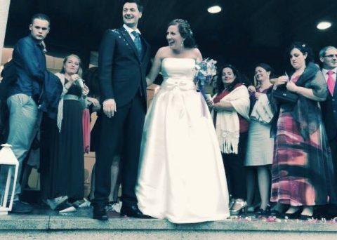 recien casados santiago de compostela